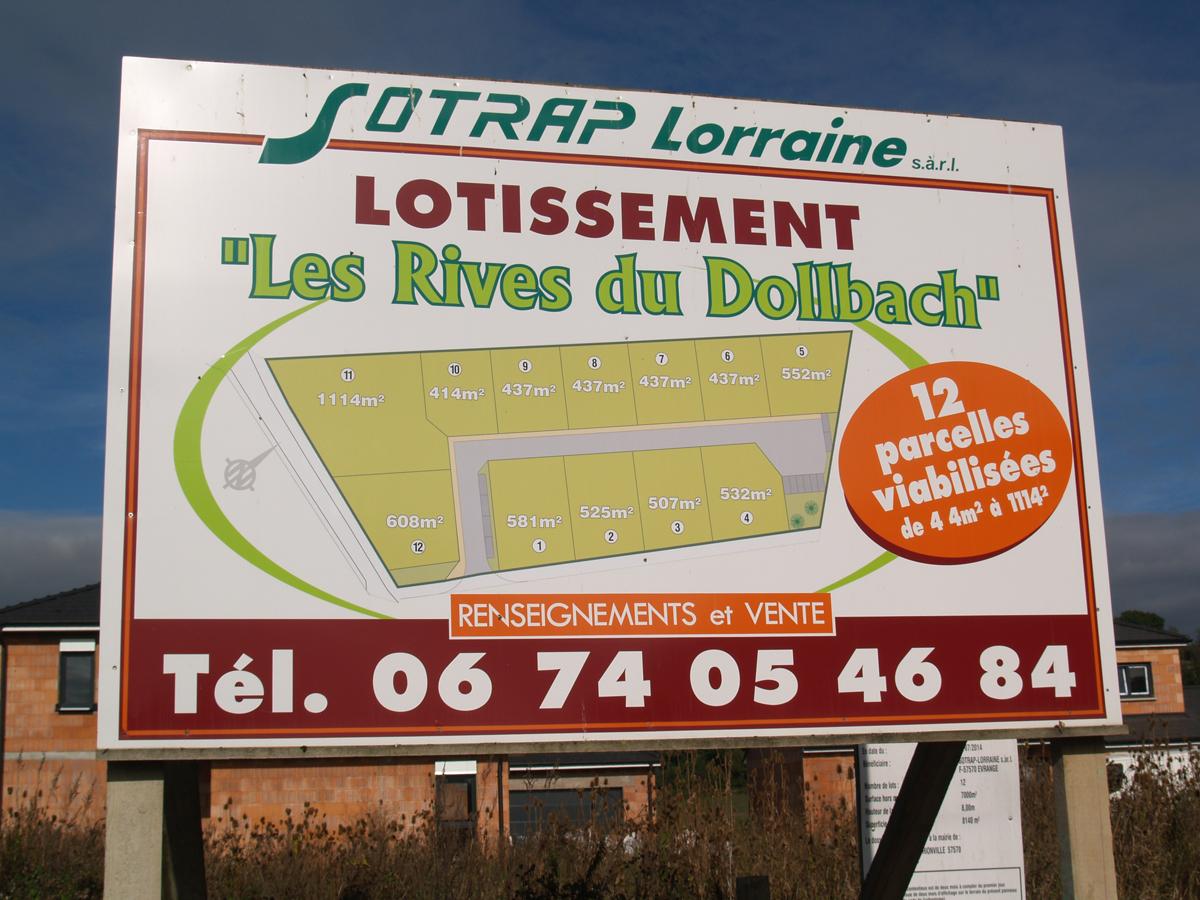 Lotissement Les rives du Dolbach à Puttelange-les-Thionville